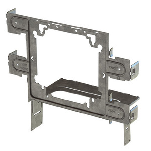 "Erico Caddy STS2346 Snap to Stud Electrical Box Bracket, 4"" and 4-11/16"", Steel"
