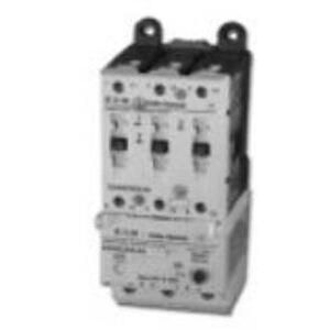 Eaton E101C40L3A Starter, Full Voltage Non-Reversing, C-Frame, 54mm, 40A, 24VDC Coil
