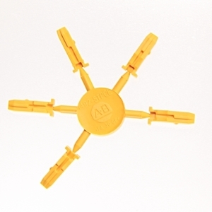 Allen-Bradley 1492-STPCE Coding Element, Yellow, for 1492-Pluggable Terminal Blocks