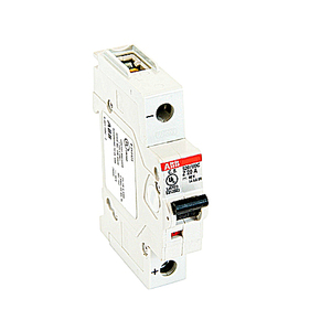 ABB S201UDC-Z20 Breaker, Miniature, 20A, 60VDC, 1P, DIN Rail Mount