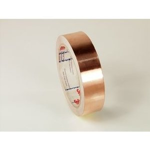 3M 1181-1.0 EMI Copper Foil Shielding Tape, 18-yds x 1-in