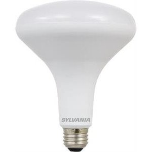 SYLVANIA LED13BR40DIM82710YVRP2 LED Lamp, Dimmable, BR40, 13W, 120V