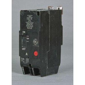 GE TEY245 Breaker, Bolt On, 45A, 480/277VAC, 2P, Molded Case, 14kAIC