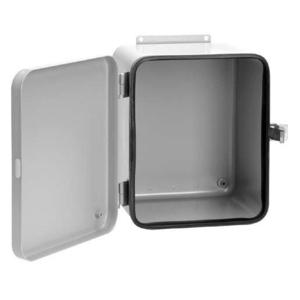 "Hoffman A12108DL Type 12, Lift-Off Cover, Wall Mount Enclosure, 12"" x 10"" x 8"""