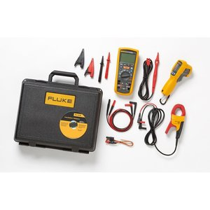 Fluke 1587KIT-62MAX+-FC Electrical Troubleshooting Kit with Calibration Certificates