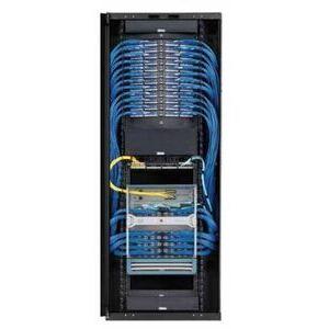 Panduit S7512BAAP-002 Net-Access S-Type Standard Cabinet, With Side panels