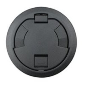 "Wiremold 6CTC2BK Surface Style Cover Assembly, 7-1/4"" Round, Black"