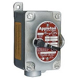 Appleton EDS1129 1-g 1/2 Snap Switch Sta-fs