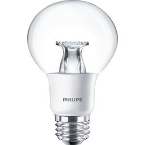 Philips 7G25/LED/827-22/E26/DIM-120V LED Lamp, Globe, G25, 7W, 120V