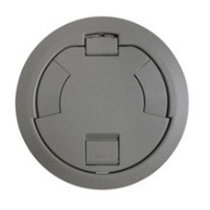"Wiremold 6CTC2GY Surface Style Cover Assembly, 7-1/4"" Round, Gray"
