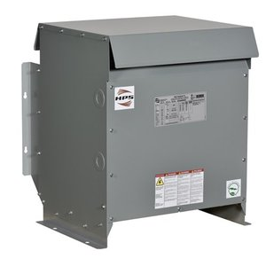 Hammond Power Solutions SG3A0045BK Transformer, Dry Type, NEMA 3R, 208Δ - 480Y/277, 3PH, 45 kVA