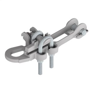 A.B. Chance ADEZ88N Bolted Dead End Clamp, Straight, Spring Loaded, Side Opening