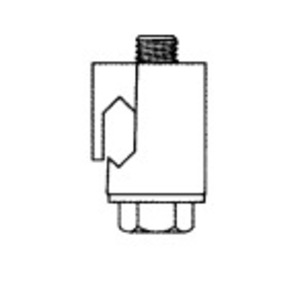 "A.B. Chance GC-5020 Compression Connector, Type: Vice, Size: 0.204 - 0.390"", Bronze"