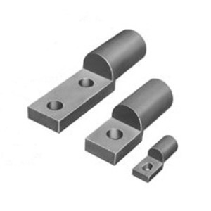 """A.B. Chance VCELC07512H1 Compact Compression Lug, 1-Hole, Aluminum, 750 MCM, 1/2"""" Stud Size"""