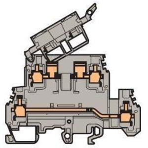 ABB Entrelec 011564723 Fuse Holder Terminal Block, Type: M 4/8.D2.SFD