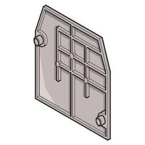 ABB Entrelec 011836816 Snap-On, End Section, Type: FEM6