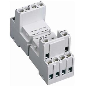 ABB Entrelec 1SVR405651R3000 Relay, Socket, 14 Blade, CR-M Series