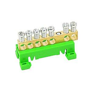 ABB Entrelec RAU035610102 Distribution Block, 7-Position, DBTI 7V
