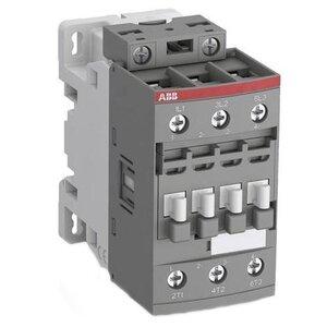 ABB AF30-30-00-13 Contactor, 50A, 3P, IEC, 100-250 VAC/VDC