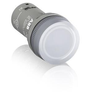 ABB CL2-513C Compact Pilot Light, Clear, Compact