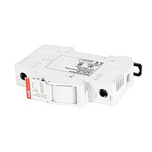 ABB E91/30CC Fuse Holder, 1P, DIN Rail Mount, 30A, 600VAC, Finger Safe, Class CC