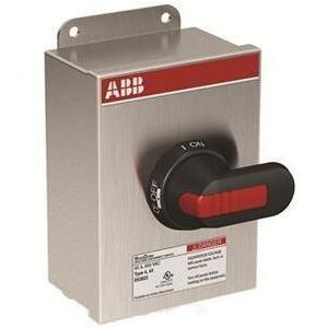 ABB EOT16U3S4-P Non-Fused Disconnect, 16 Amp, 3-Pole