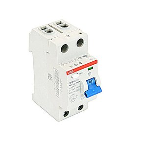 ABB F202AC-40/0.03 Breaker, DIN Rail Mount, Ground Fault, Residual Current, 30mA, 63A