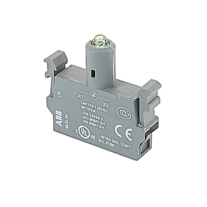 ABB MLBL-04G Modular LED Block, 110-130 V AC, Green