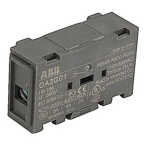 ABB OA3G01 Auxiliary Contact, 1 N.C.