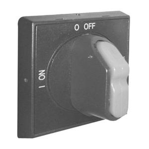 ABB OHBS2AJ Disconnect Switch, Selector Handle, Black, I-O, ON-OFF