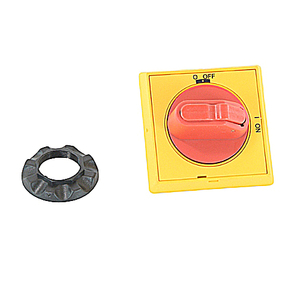 ABB OHYS2AJ Disconnect Switch, Selector Handle, Yellow, 6mm Shaft