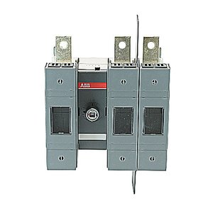 ABB OS100GJ12 Disconnect, Fused, 100A, 3P, Class J, 600VAC, Front Operated