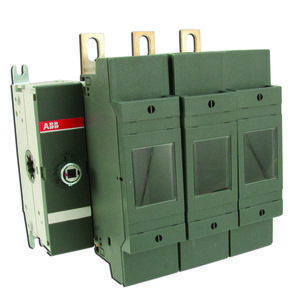 ABB OS200J03 Disconnect, Fused, 200A, 3P, Class J, 600VAC, Front Operated