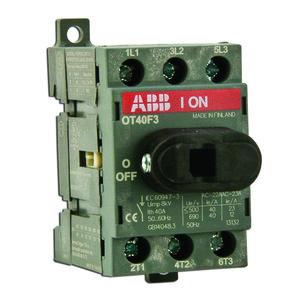 ABB OT25F3 Non-Fused Disconnect, 25 Amp, 3-Pole