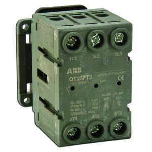 ABB OT25FT3 Non-Fused Disconnect, 25 Amp, 3-Pole
