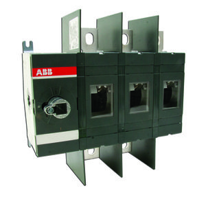 ABB OT400U03 Disconnect, Non-Fused, 400A, 3P, 600VAC, Terminal Bolt Included