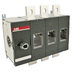 ABB OT600U03 Disconnect, Non-Fused, 600A, 3P, 600VAC, Terminal Bolt Included