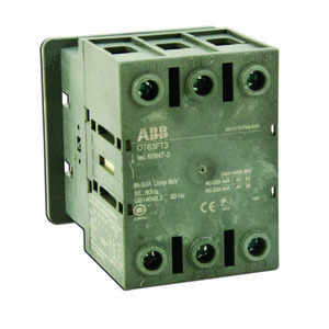 ABB OT80FT3 Disconnect switch, Non-Fused, 80A, 3P, 690VAC, Front Operated