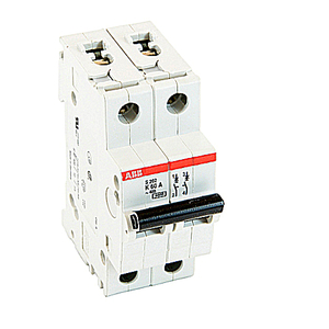 ABB S202-K60 Mini Circuit Breaker 2p K 60a 480y/277 Supp