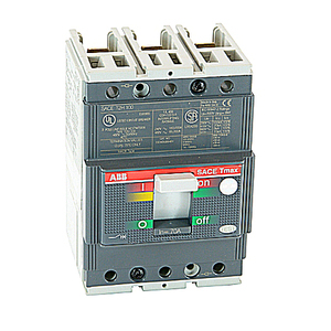 ABB T2H070TW Breaker, Molded Case, 70A, 3P, 480VAC, 65kAIC, 700A Magnetic
