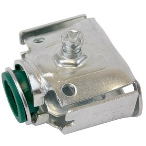 "AFC 0122-22-00 AC/Flex Connector, Screw, 1/2"", Steel, Insulated, Duplex"
