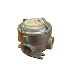 """Abtech GUAX-16 Conduit Outlet Box, Type: GUAX, Explosionproof, 1/2"""" Hubs, 3"""" Opening"""