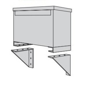 Acme PL79911 Mounting Bracket, for 3PH, Encapsulated Transformers, 11-20KVA