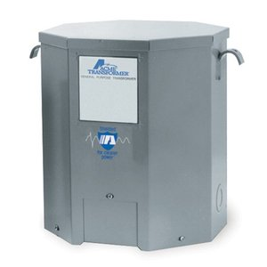 Acme T2535153S Transformer, 7.5KVA, 1P, 240 x 480V, 120/240V, Isolation
