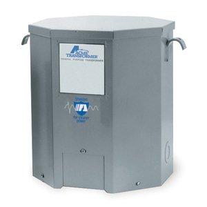 Acme T2536171S Transformer, 15KVA, 1P, 600V, 120/240V, Isolation