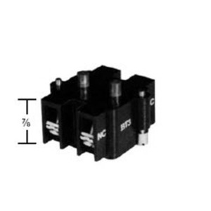 Adalet BT-1A Contact Block, 1 NO/1NC, 600VAC, BT Series