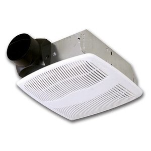 Air King AS50 Exhaust Fan, Low Profile, 50 CFM