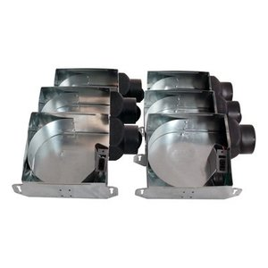 "Air King ASHSG Contractor Pack, Fan Housing with 3"" Duct"