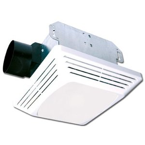 Air King ASLC50 Ceiling Fan/Light, 50 CFM, Incandescent