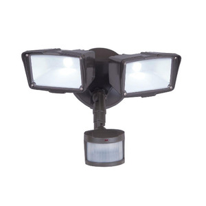 All-Pro Lighting MST27920LES Flood Light, LED, Motion Sensor, 31W, Bronze